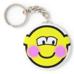 Shy buddy icon   keychains
