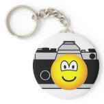 Camera emoticon   keychains