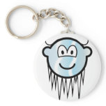 Cool buddy icon With snow  keychains