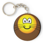 Lion emoticon   keychains