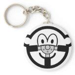 Steering wheel buddy icon   keychains