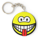 Wazzup smile   keychains