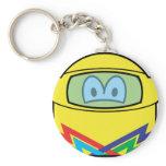 Helmet smile   keychains