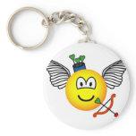 Cupid emoticon   keychains