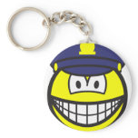 Cop smile   keychains