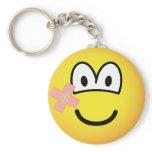 Plaster emoticon   keychains
