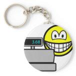 Cash register smile   keychains