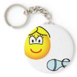 Cinderalla emoticon verloren schoentje  keychains