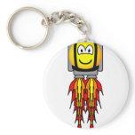Jetpack emoticon   keychains