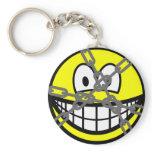 Houdini smile   keychains