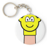 Sock puppet buddy icon   keychains