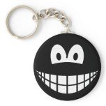 Sphere smile   keychains