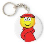 Cold weather emoticon   keychains