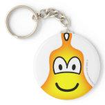 Bell emoticon   keychains