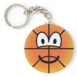 Basketball emoticon   keychains