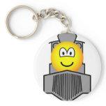 Train emoticon   keychains