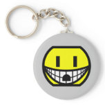 Wall socket smile   keychains