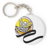 Movie reel emoticon   keychains