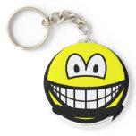 Black belt smile   keychains