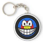 Target smile   keychains