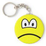 Sad smile   keychains