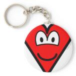 Heart buddy icon   keychains