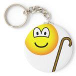 Walking cane emoticon   keychains
