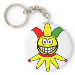April fools smile   keychains