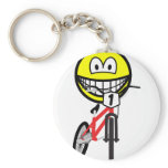 BMX smile Olympic sport Cycling keychains