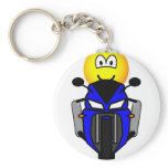 Motorcycle emoticon   keychains