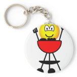 BBQ emoticon   keychains