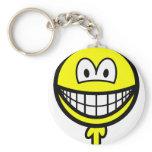 Penis smile   keychains