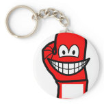 Boxingglove smile   keychains