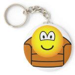 Armchair emoticon   keychains