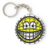 Pinhead smile   keychains