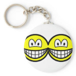 Siamese smile   keychains