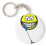Metaldetector smile   keychains