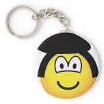 Elvis emoticon   keychains