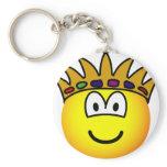 King emoticon   keychains