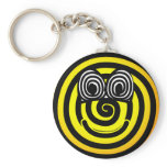Spiral emoticon   keychains