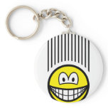Falling smile   keychains
