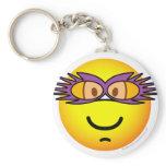 Elton John emoticon   keychains
