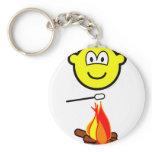 Campfire marshmallow buddy icon   keychains