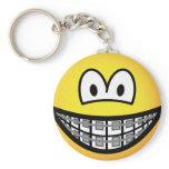 Braces emoticon   keychains
