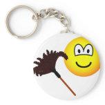 Dusting emoticon   keychains