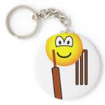 Cricket emoticon   keychains