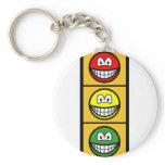 Traffic light smile   keychains