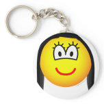 Charlotte emoticon Sex and the City  keychains