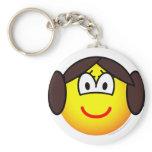 Leia Organa emoticon   keychains
