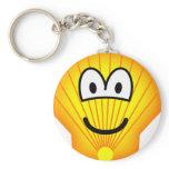 Shell emoticon   keychains